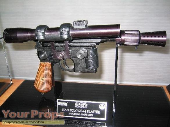 Han Solo DL44 GREEDO KILLER REPLICA COMPACT SCOPE KIT