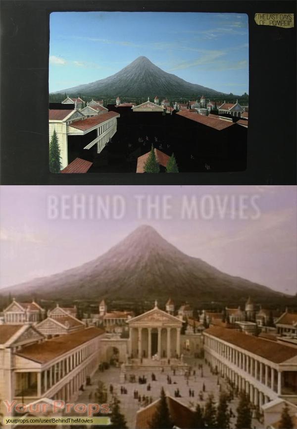 The Last Days Of Pompeii original production material