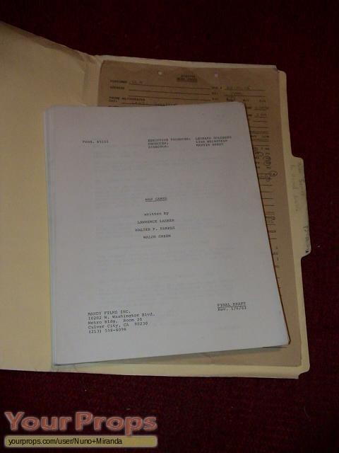 WarGames original production material