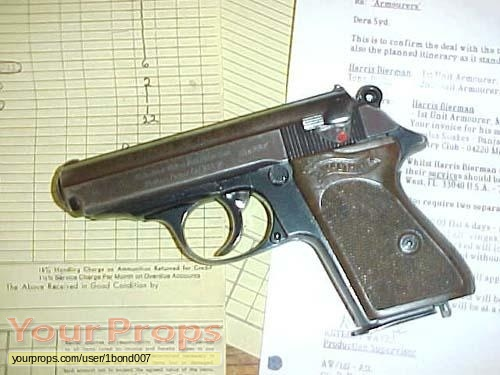 James Bond  Licence To Kill original movie prop weapon