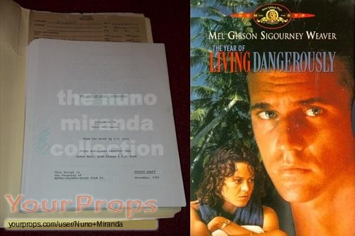 The Year of Living Dangerously original production material