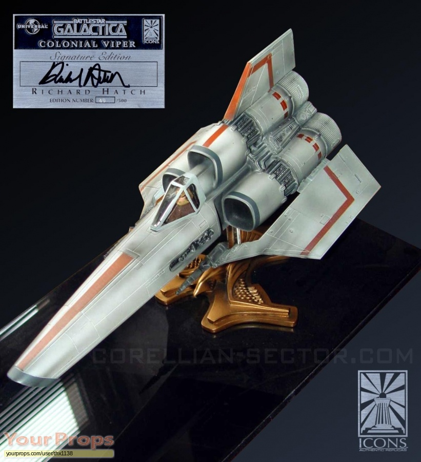 Battlestar Galactica Icons Replicas model   miniature