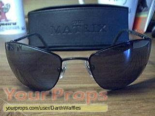 9436db5a9 The Matrix Reloaded / Revolutions Neo Sunglasses replica movie costume