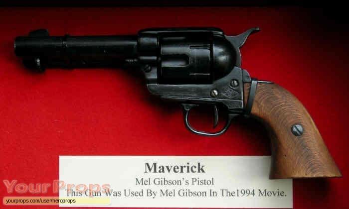 Maverick original movie prop