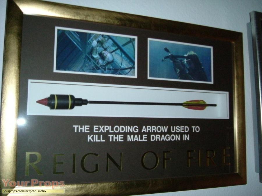 Reign of Fire original movie prop weapon