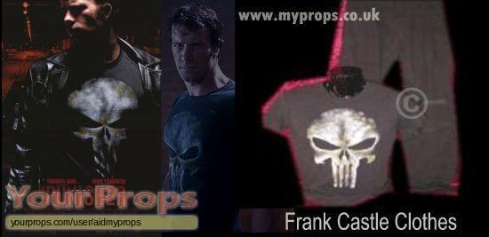 The Punisher original movie costume