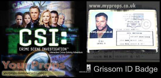CSI  Crime Scene Investigation original movie prop