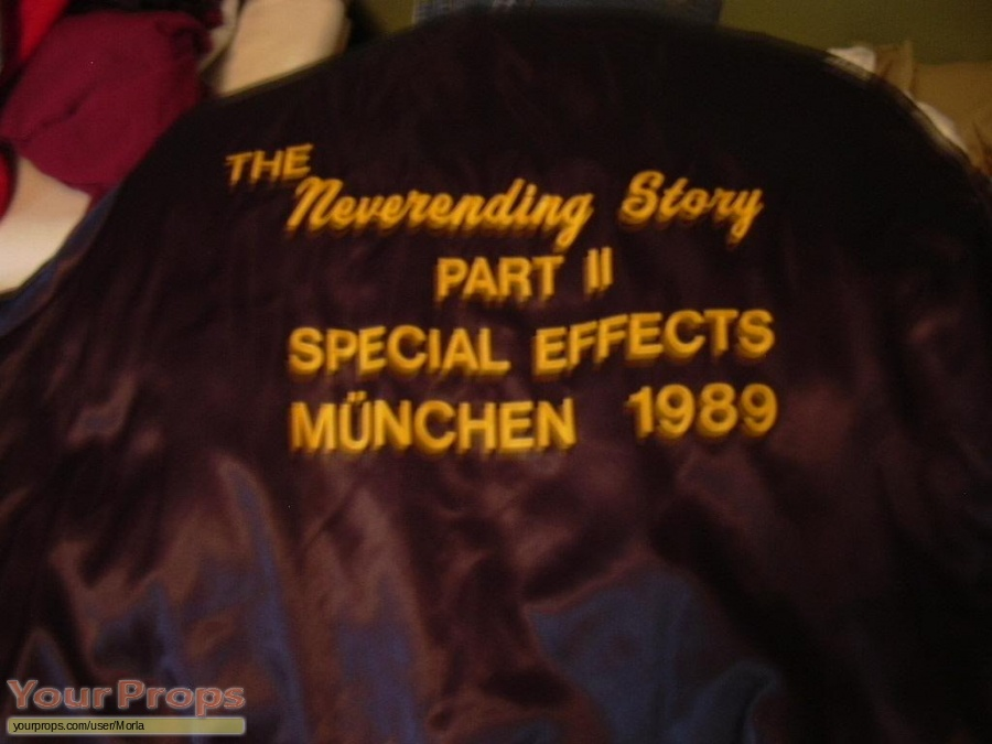 The NeverEnding Story 2  The Next Chapter original film-crew items