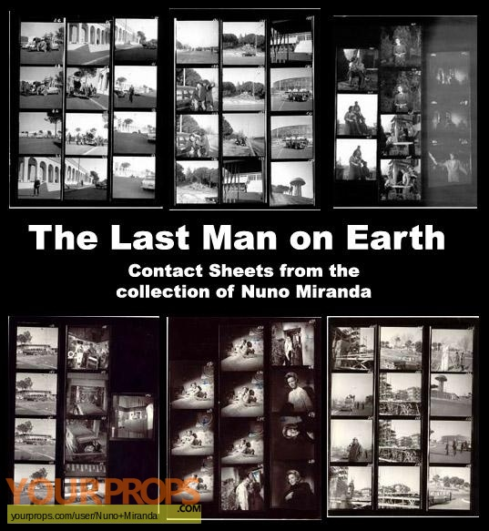Last Man on Earth original production material