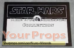 Star Wars  A New Hope original film-crew items