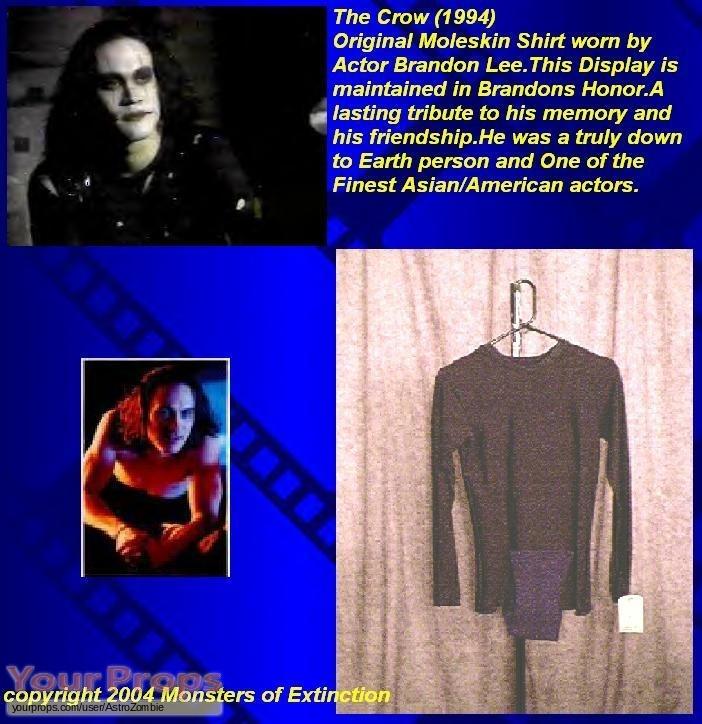 The Crow original movie costume