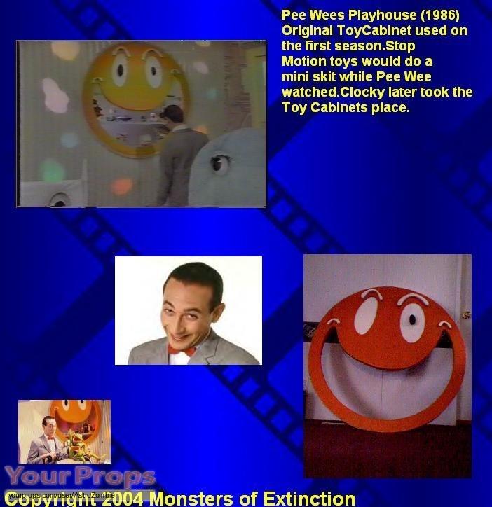 Pee-wees Playhouse original movie prop