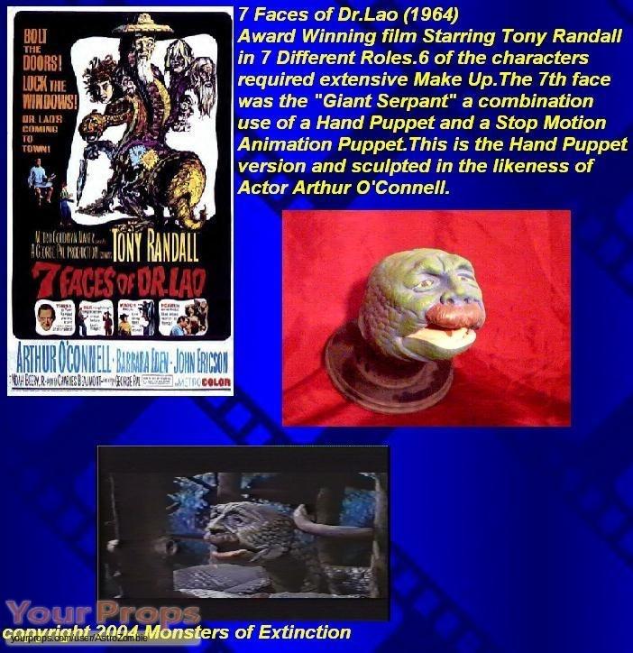 Seven Faces of Dr Lao replica movie prop