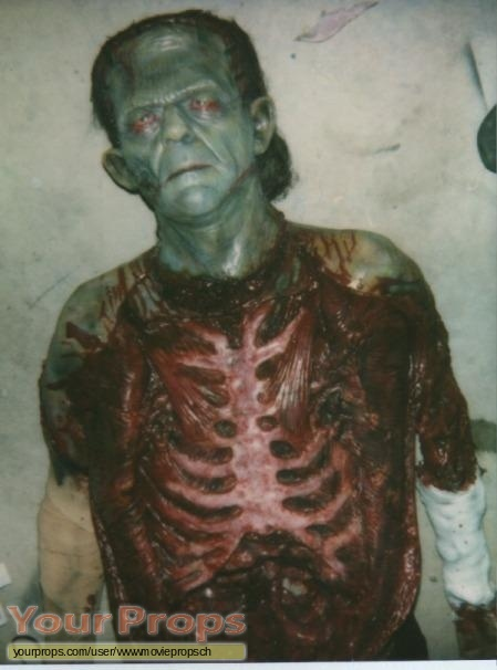 Frankenstein replica movie prop