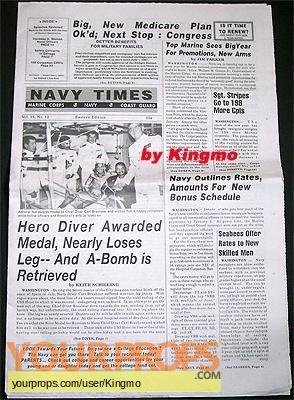 Men of Honor original movie prop
