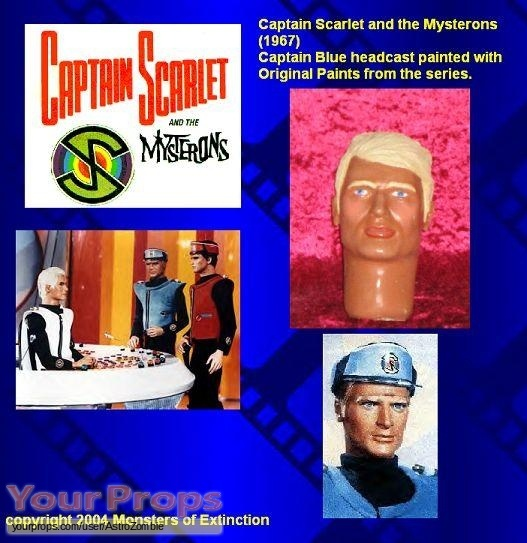 Captain Scarlet and the Mysterons replica movie prop