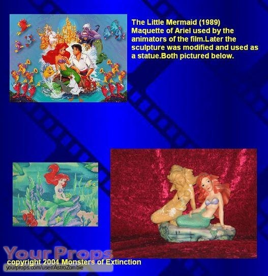 The Little Mermaid replica movie prop