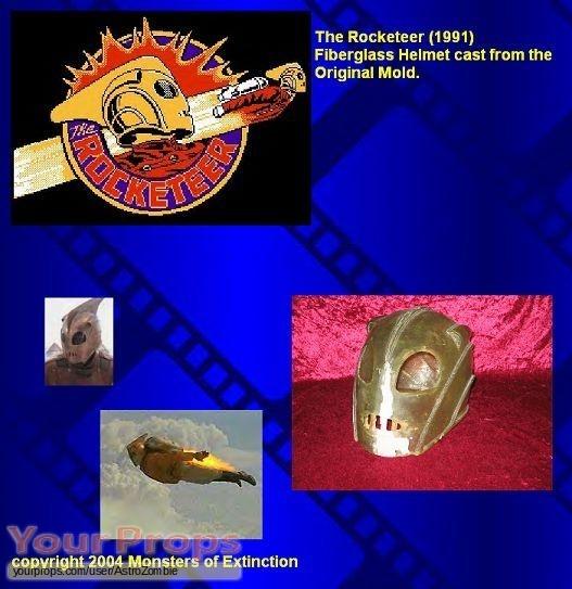 The Rocketeer replica movie costume