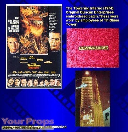 The Towering Inferno original movie costume