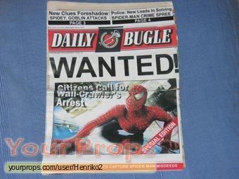 Spider-Man replica movie prop