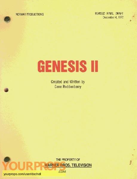 Genesis II replica production material