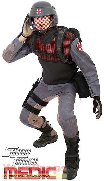 original movie costume  sc 1 st  Your Props & Starship Troopers Mobile Infantry - Combat Medic original movie costume