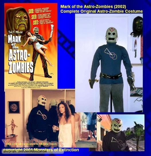 Mark of the Astro-Zombies original movie costume
