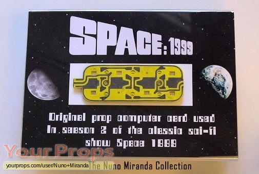Space  1999 original movie prop