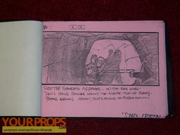 The Dark Crystal original production artwork