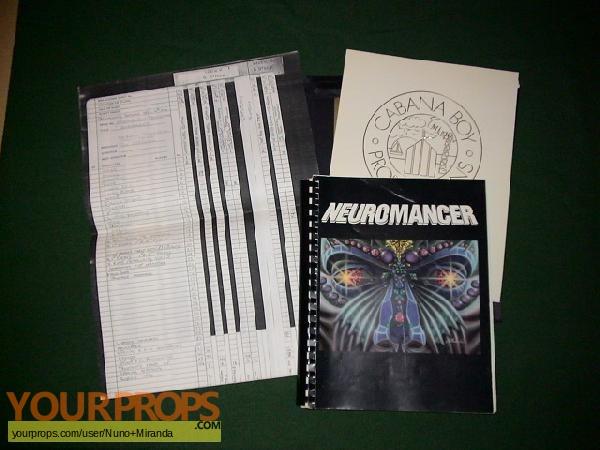 Neuromancer original production material