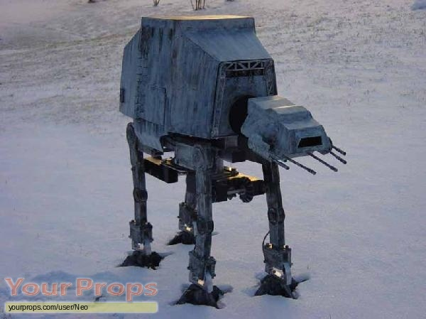 Star Wars  The Empire Strikes Back scaled scratch-built model   miniature