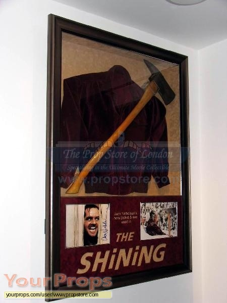 The Shining original movie prop weapon
