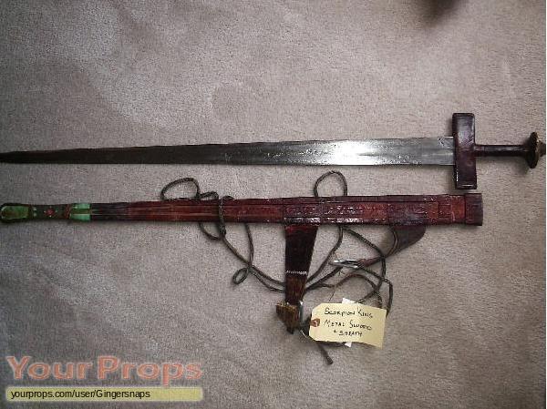 The Scorpion King original movie prop weapon