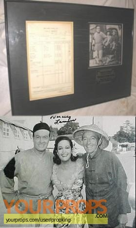 The Road To Hong Kong original production material