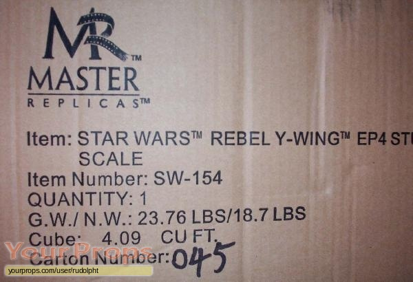Star Wars  A New Hope Master Replicas model   miniature
