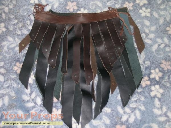 xena warrior princess leather skirt original tv