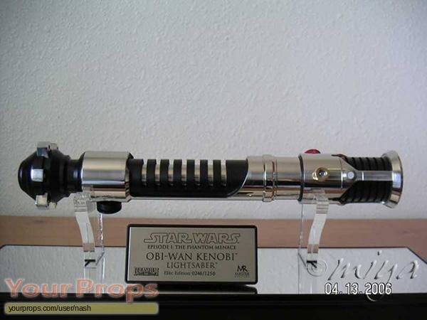 Star Wars  The Phantom Menace Master Replicas movie prop weapon