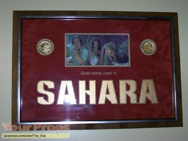 Sahara original movie prop