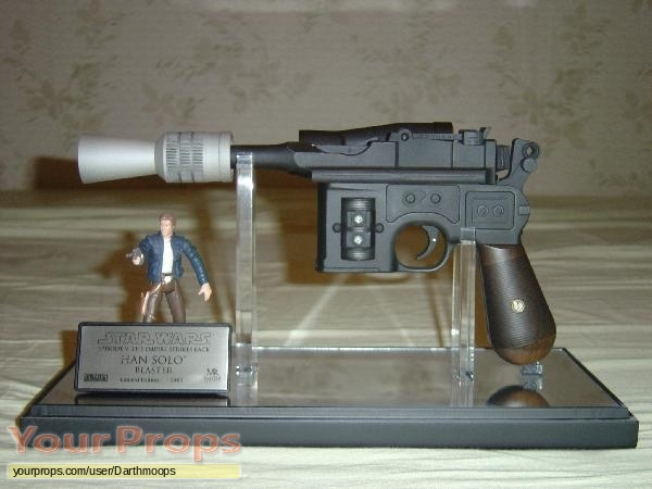 Star Wars  The Empire Strikes Back Master Replicas movie prop weapon