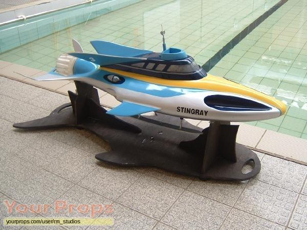 Thunderbirds replica movie prop