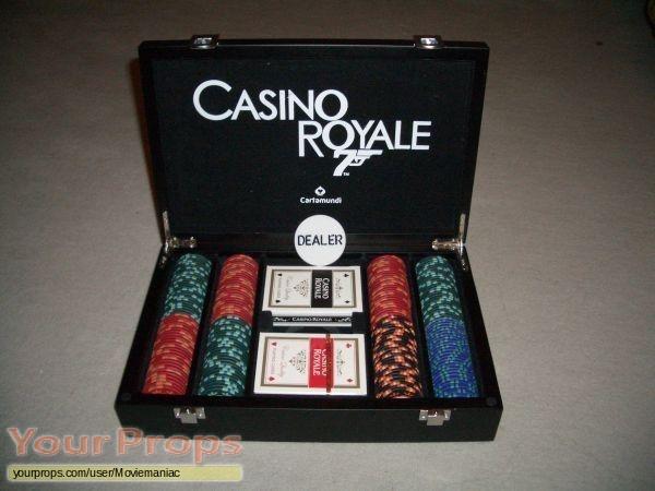 james bond casino royale poker set