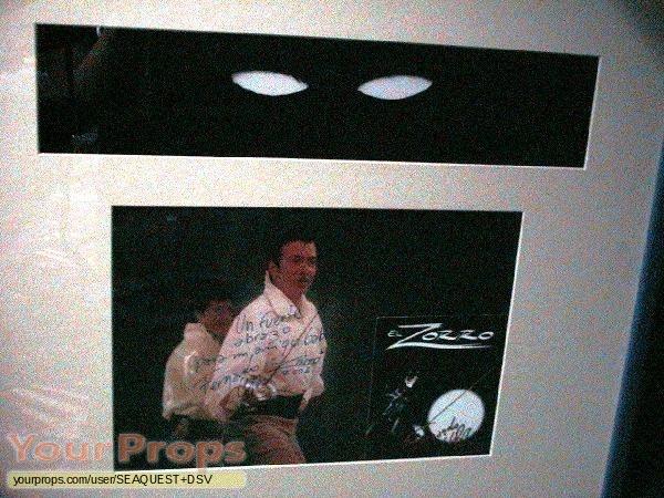 Zorro replica movie costume