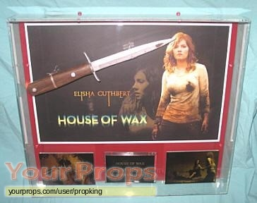House of Wax original movie prop weapon