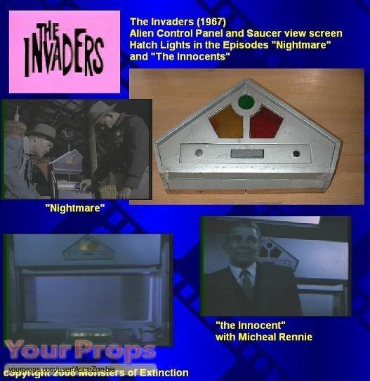 The Invaders original movie prop