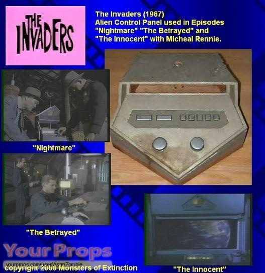 The Invaders original movie prop