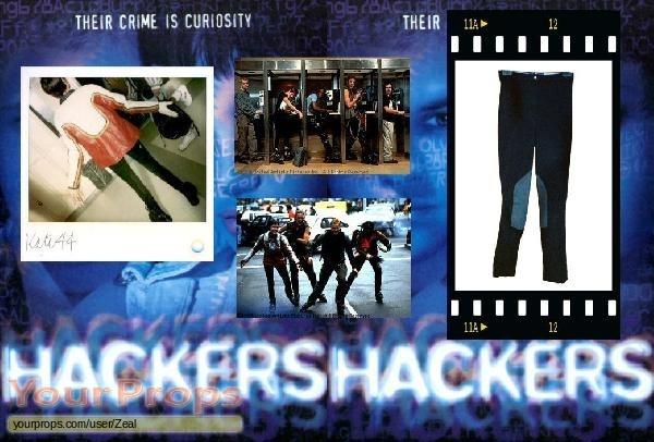 Hackers original movie costume