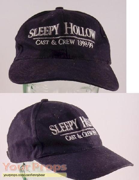 Sleepy Hollow original film-crew items