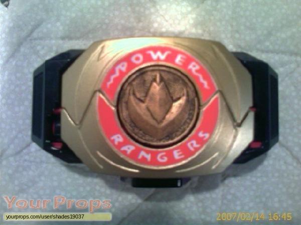 Mighty Morphin Power Rangers replica movie prop