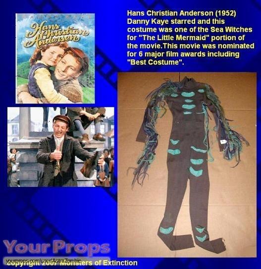 Hans Christian Anderson original movie costume