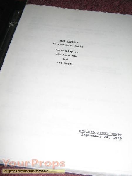 Hot Shots  original production material